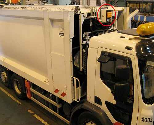 Solutions odors garbage truck