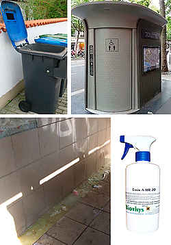 Total elimination of odors: Cubes garbage, changing rooms, hotels, public toilets.)Exair A-HR-20